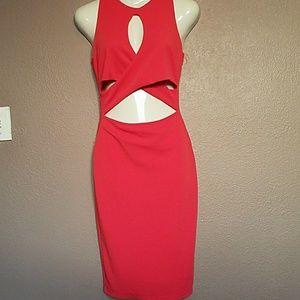 Dresses & Skirts - Sexy Bodycon Cutout Midi Dress